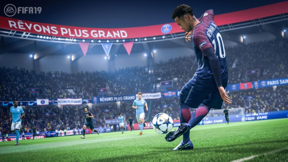 Neymar was a big part of the FIFA 19 trailer