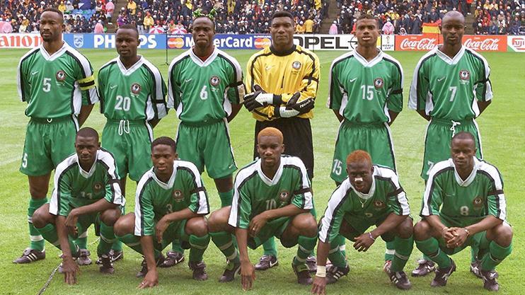 new arrival c1b8f 299e3 Let's take a moment to appreciate Nigeria's World Cup kits ...
