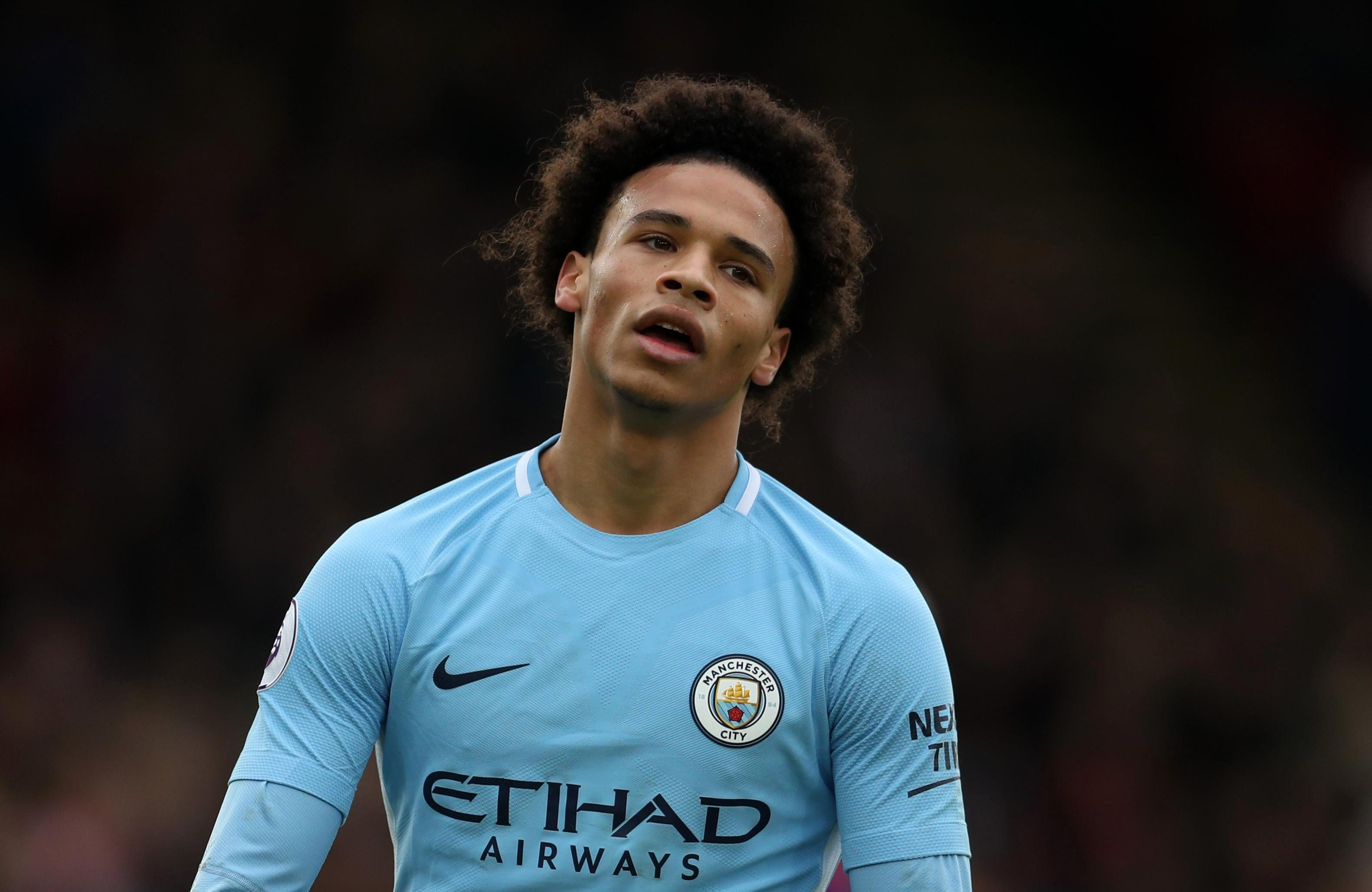 The winger played a crucial part in Man City's double winning season