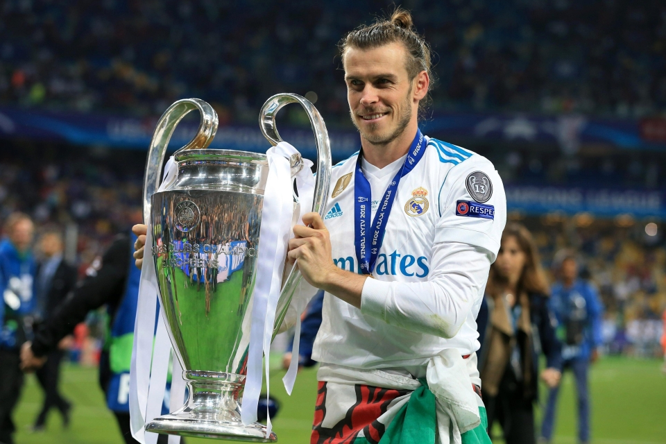 Bale bagged a brace in the Champions League final