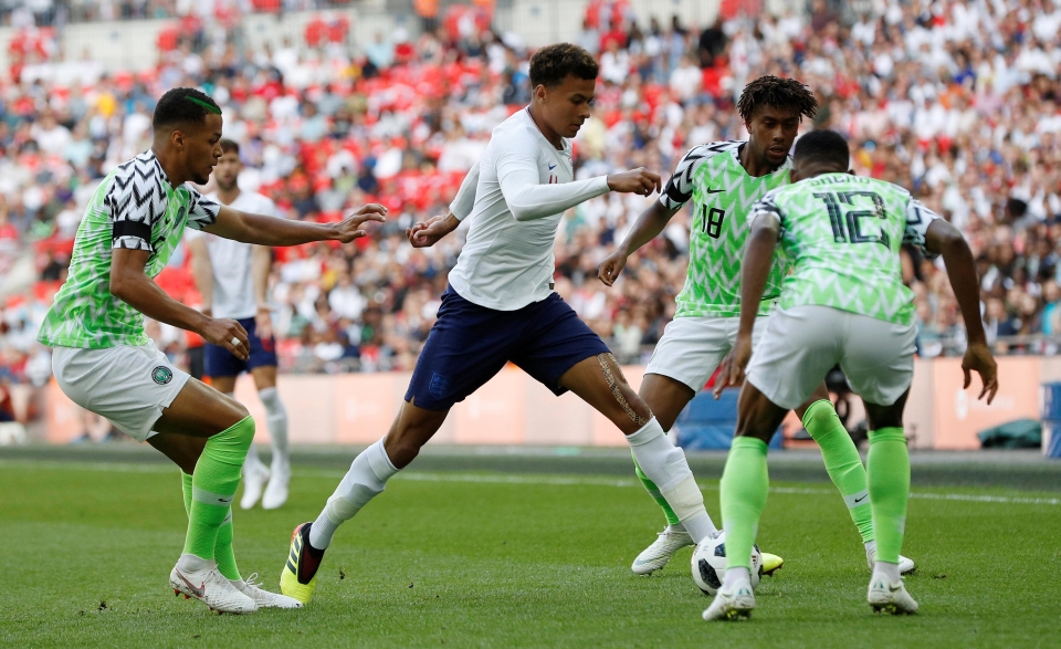 Alli was a targeted man on the pitch as well as from the stands