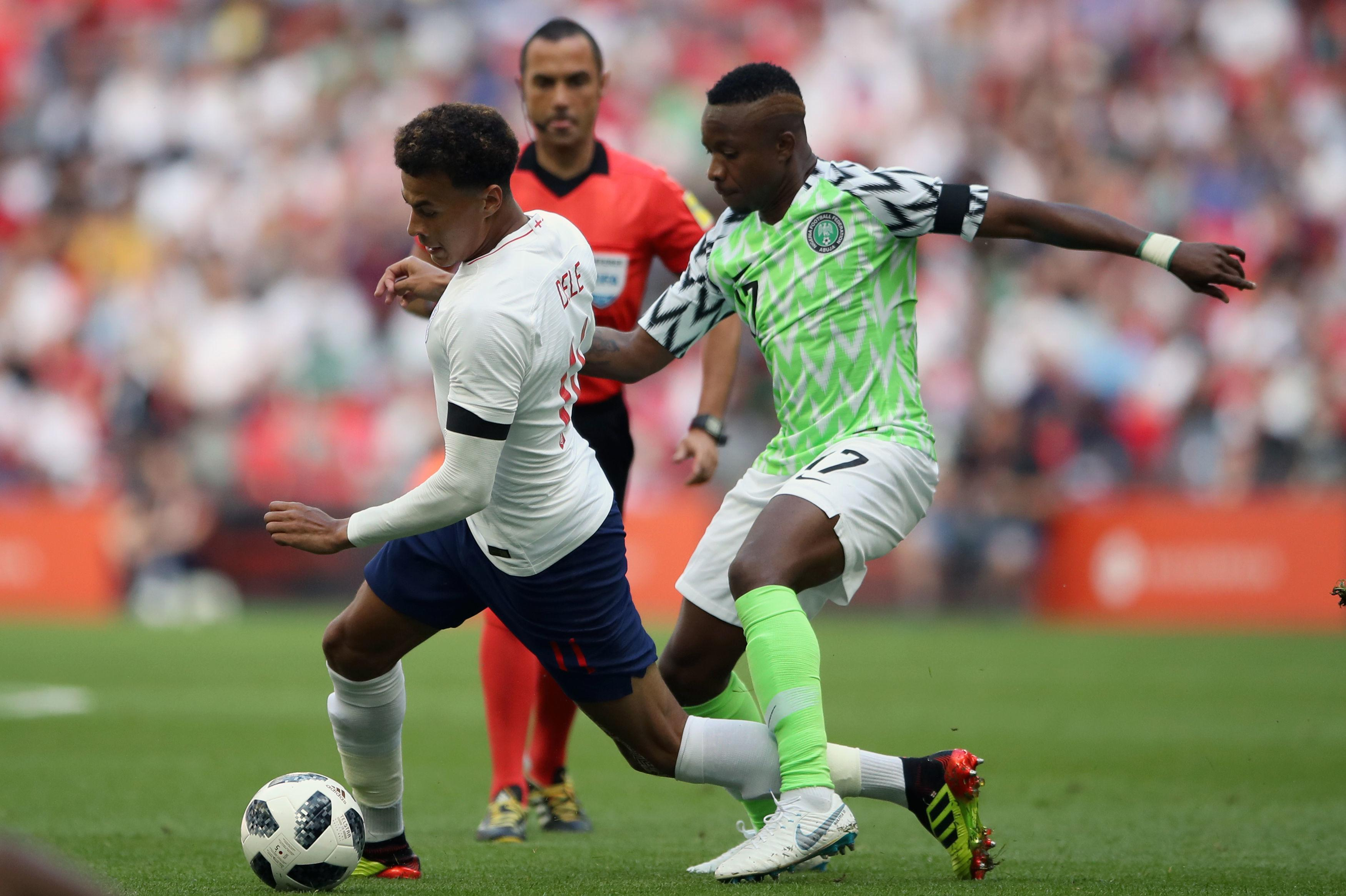 We could well have seen Alli in a Nigeria shirt