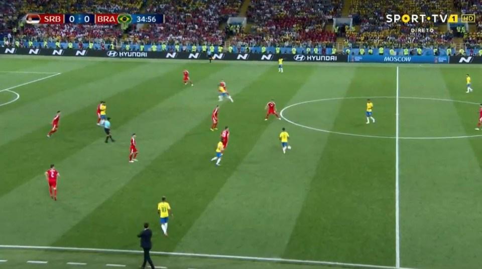 Paulinho breaks from deep