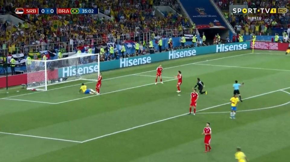 1-0 Brazil!