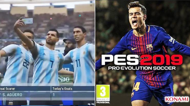 PES 2019: 4 incredible new celebrations that'll make FIFA fans very