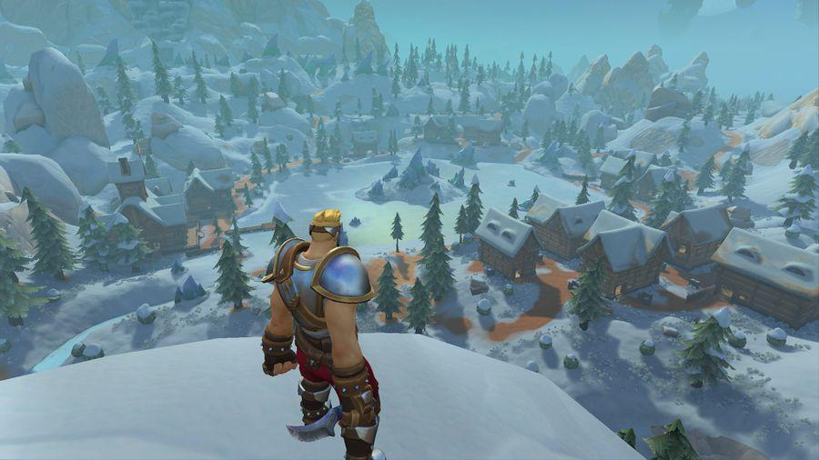 Everfrost is a mountainous safe haven, for those looking to take a more stealthy approach