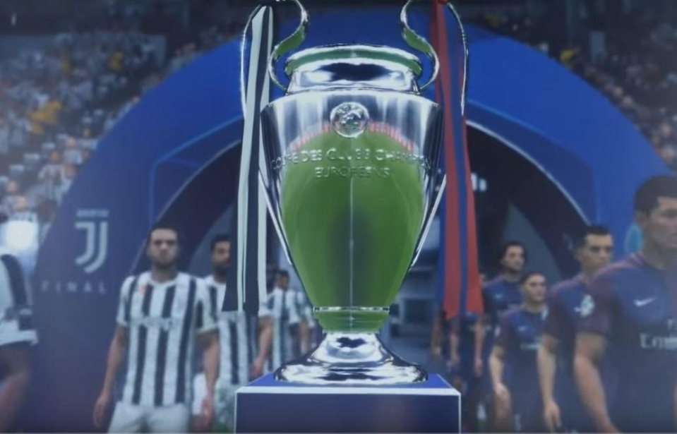 The trophy takes centre stage
