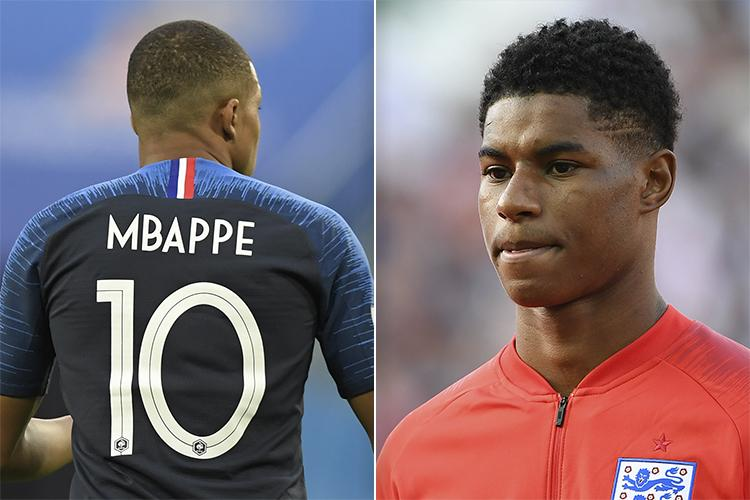 Kylian Mbappe And Marcus Rashford Are Two Similar Players In Two Polar Opposite Systems