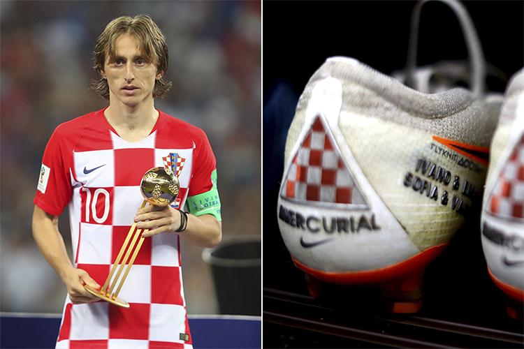 wholesale dealer 30d0e 4e50f Luka Modric became the first Nike-sponsored athlete to lift ...