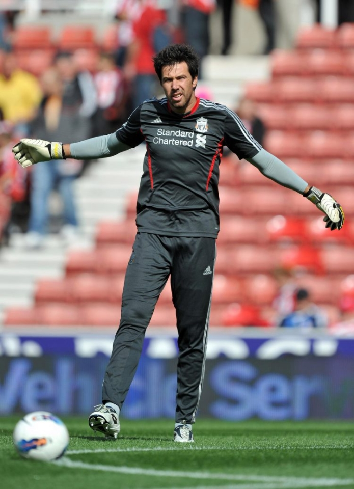 You don't see enough keepers in trousers these days