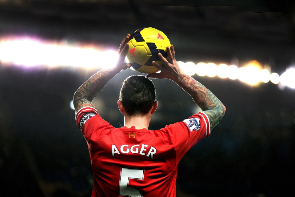You haven't thought about Daniel Agger in a while, have you?