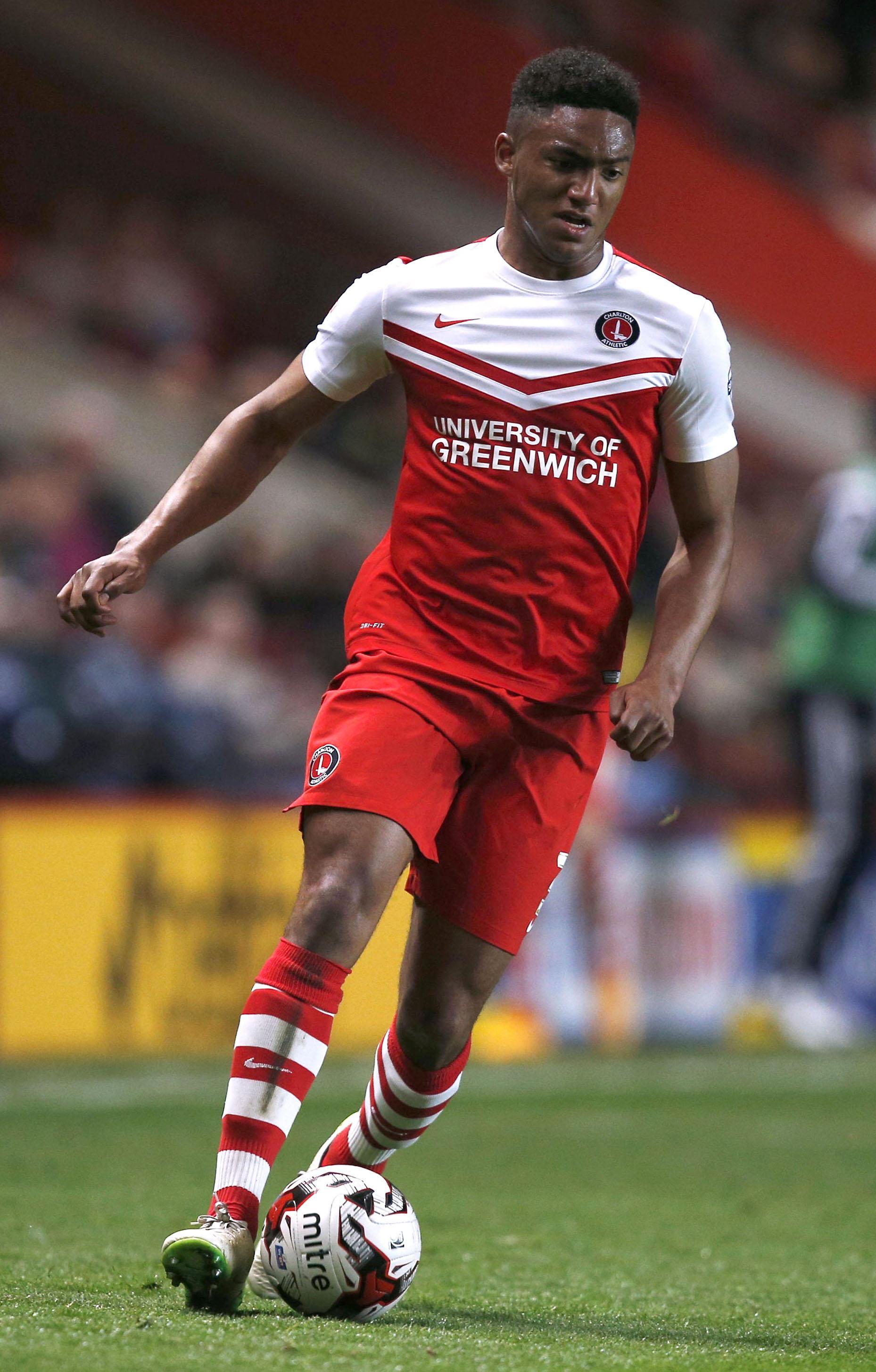 Gomez was still in Charlton's youth ranks