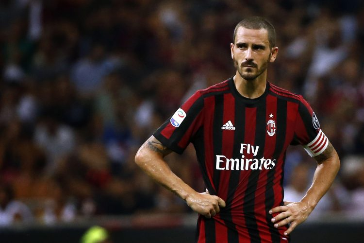 Yes, there is an unlimited supply of Bonucci looking sad in a Milan shirt