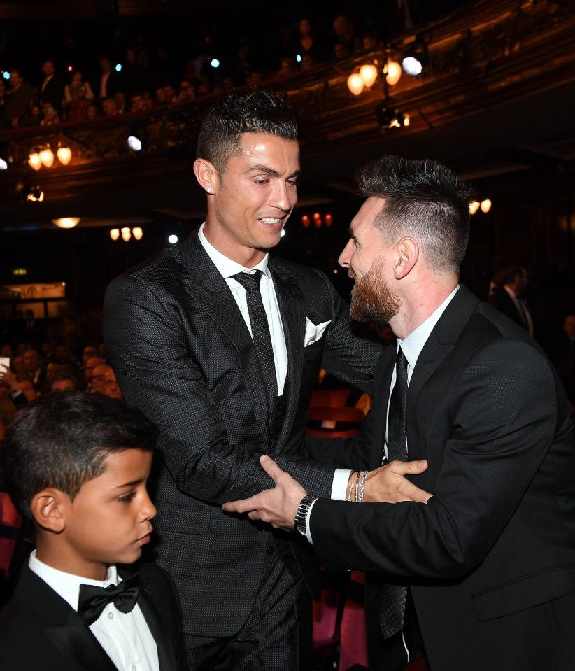 It's funny what ten Ballon d'Ors can do