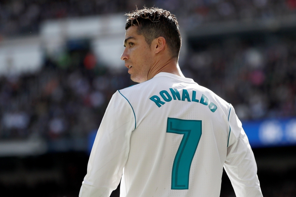 Cristiano Ronaldo will always be associated with the Real Madrid No 7 jersey