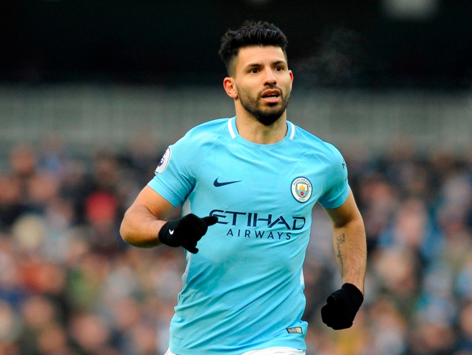Name your top five Premier League strikers of all time, does Aguero make it?