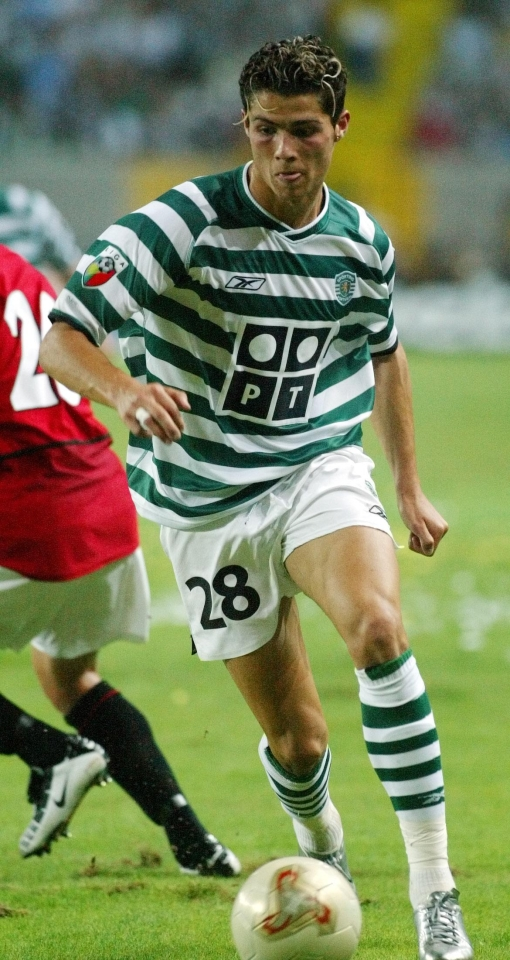 The 18-year-old Ronaldo was hot property