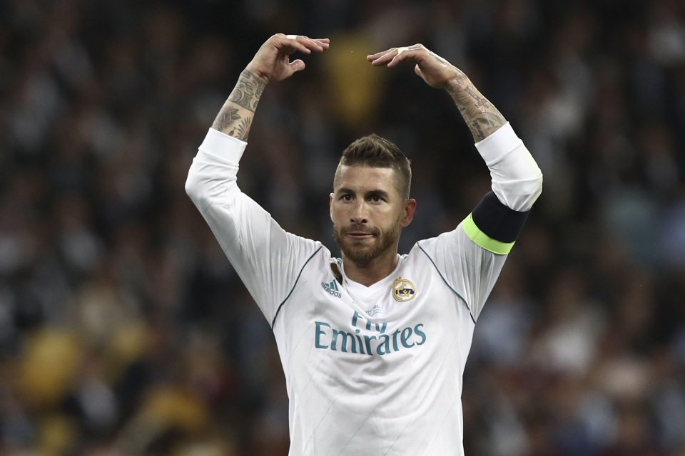 It's unclear how Ramos caused the concussion, but rumours say it was a flying headbutt