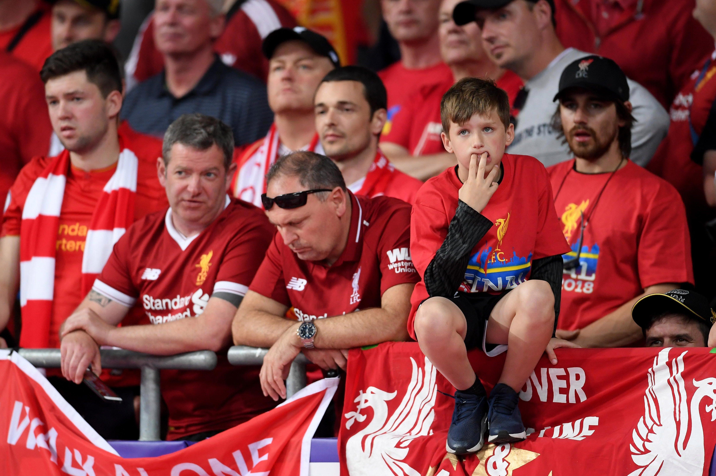 Liverpool fans were mocked