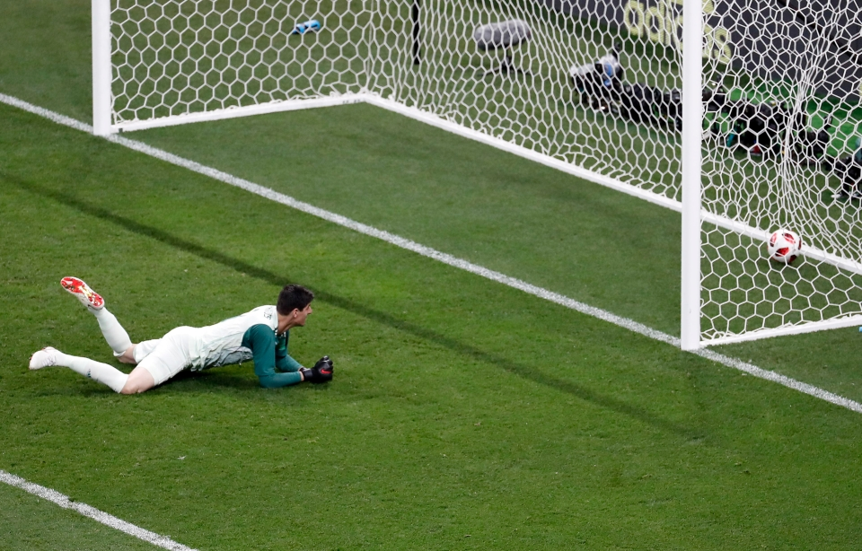 Reckon Pickford would've stopped that one, pal