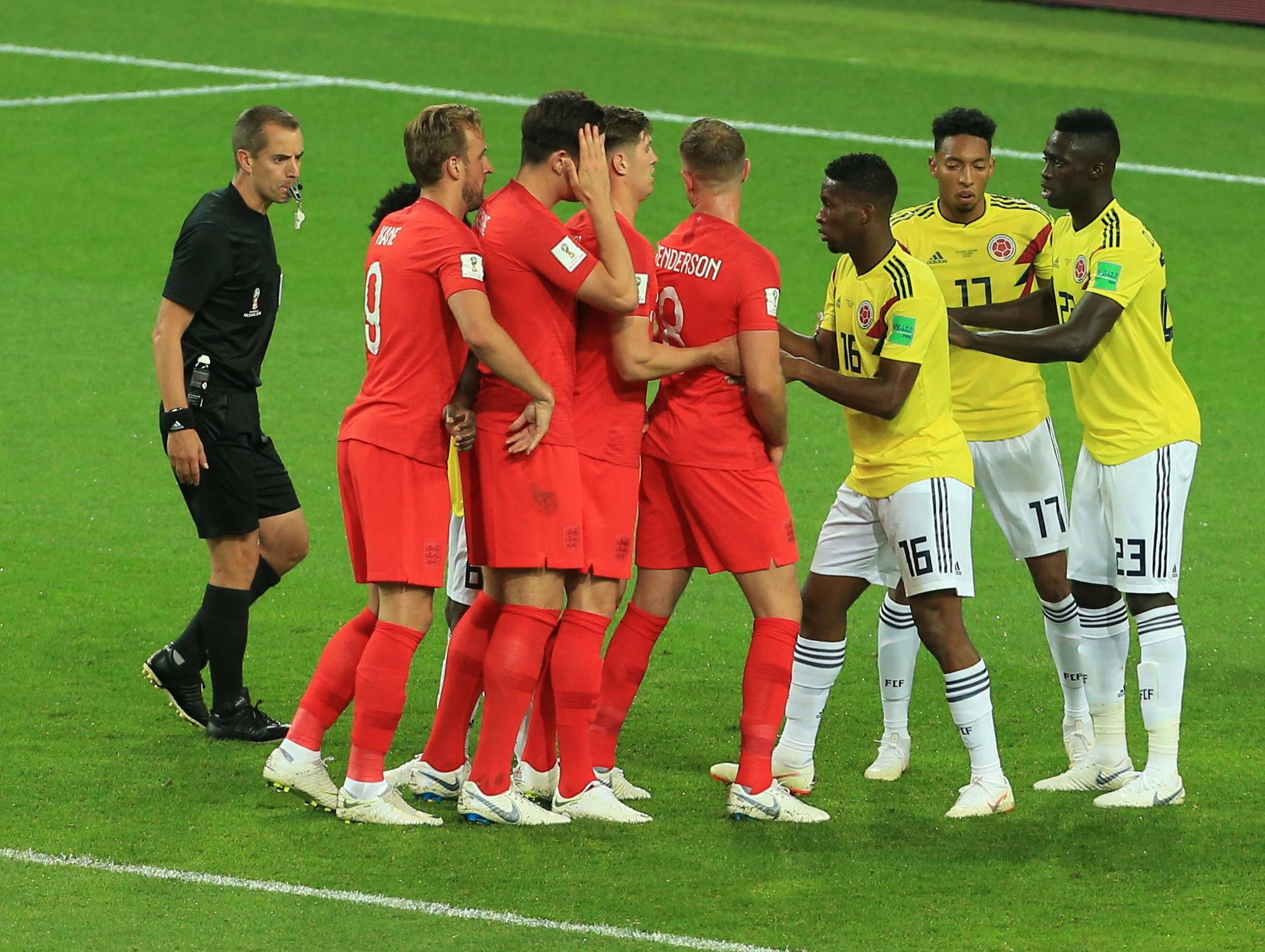 Some variation on the human centipede proved useful for England