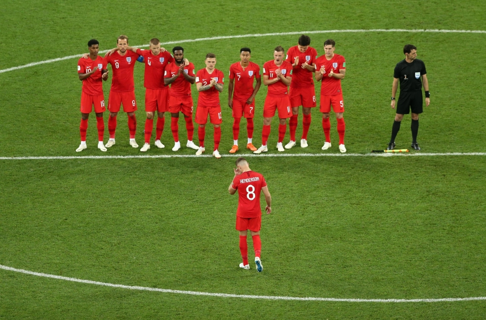 A long, lonely walk back for Henderson