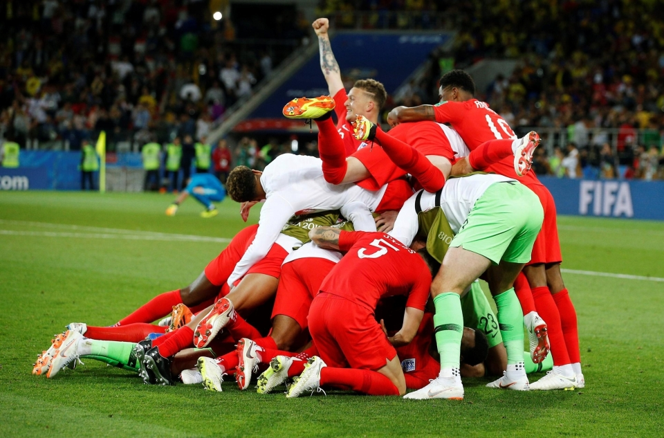 Team spirit has been crucial to England's success