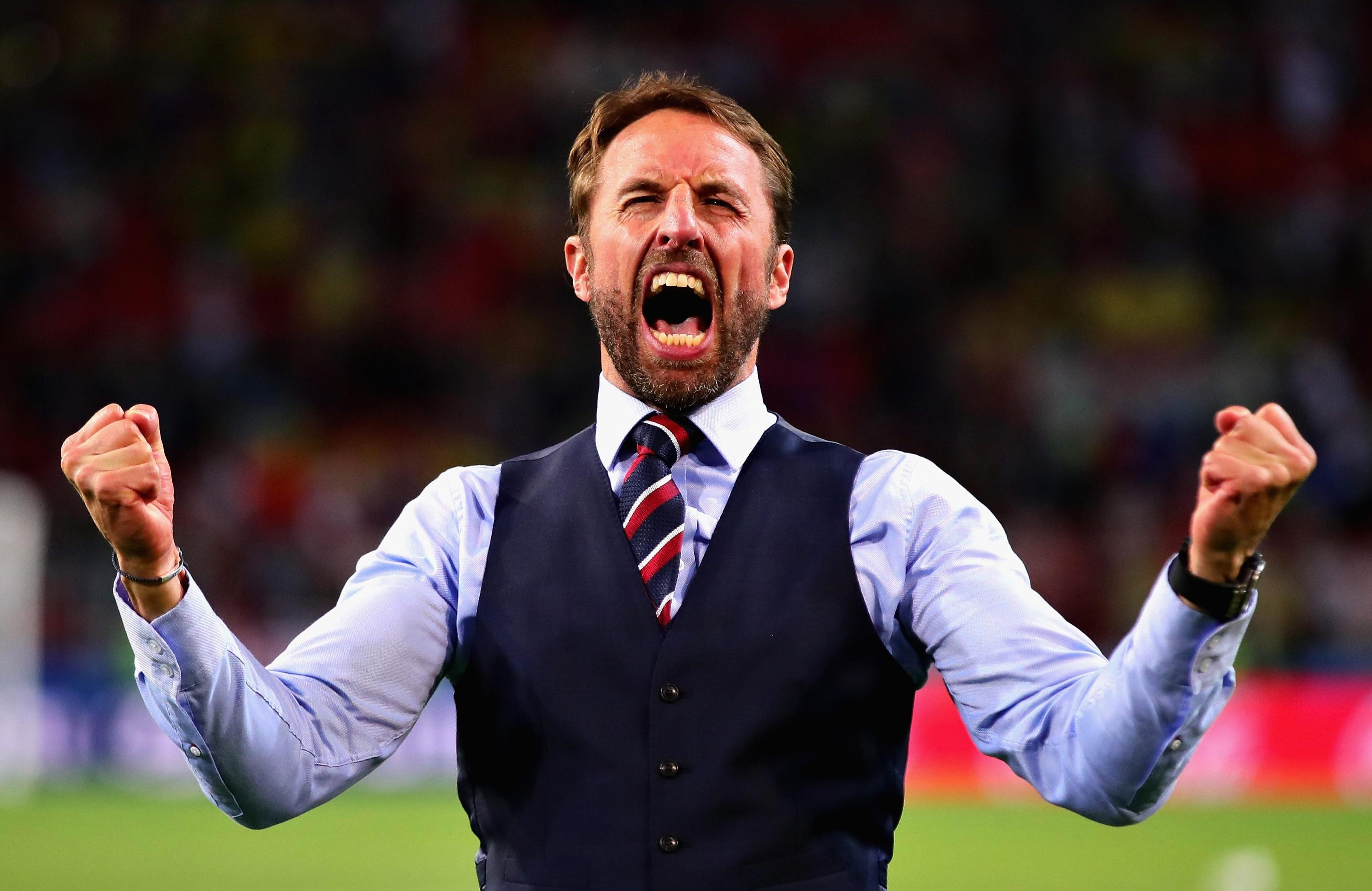 """Southgate you're the one…"""