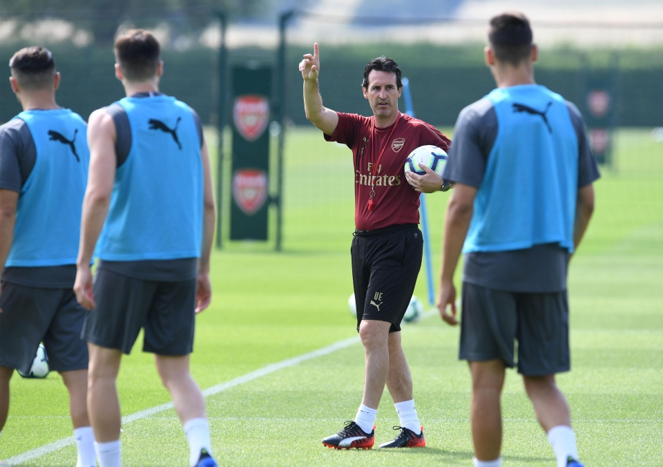 I do hope he isn't teaching them rugby?