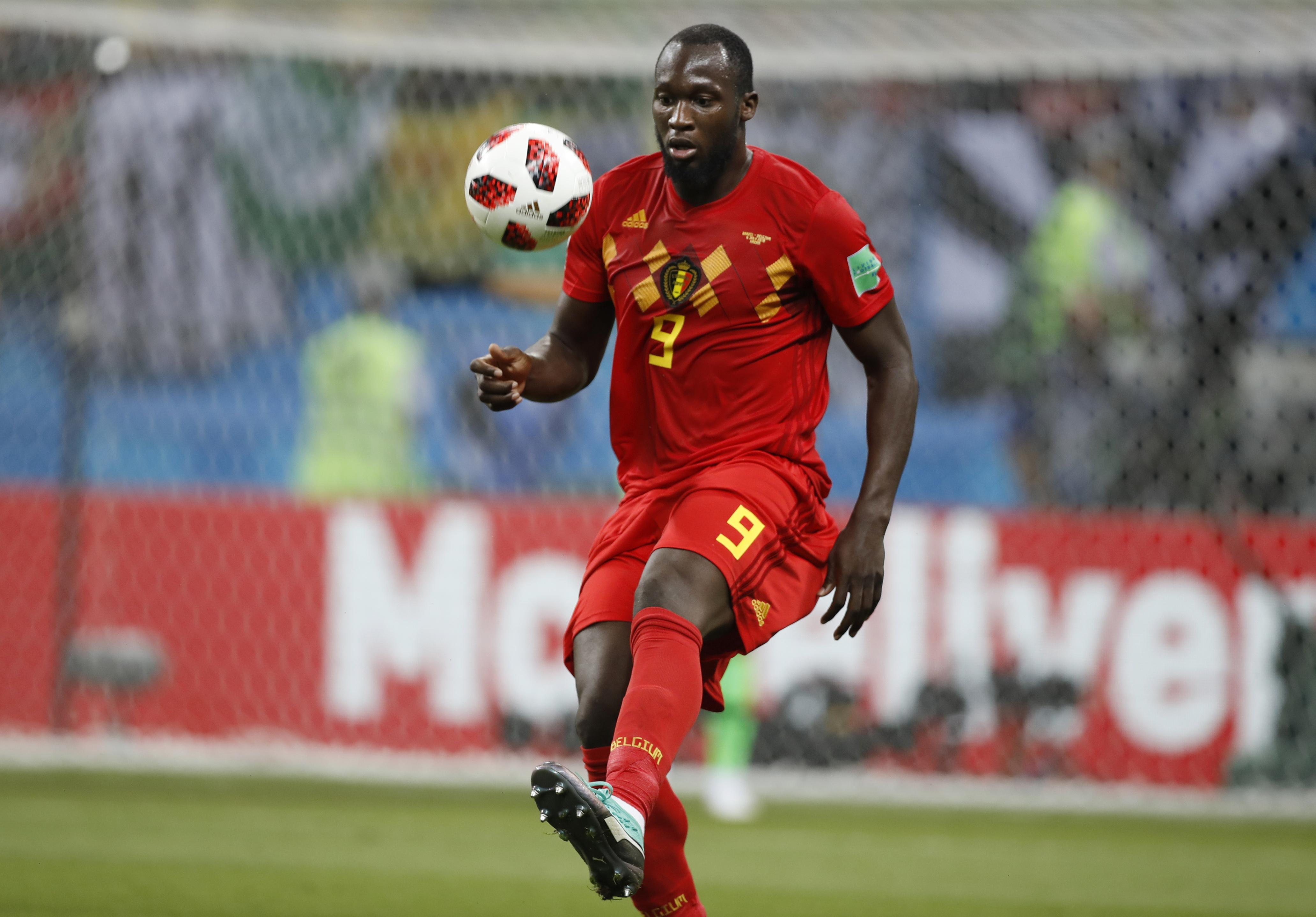 Lukaku played a crucial role in Belgium's second goal against Brazil in the quarter-final