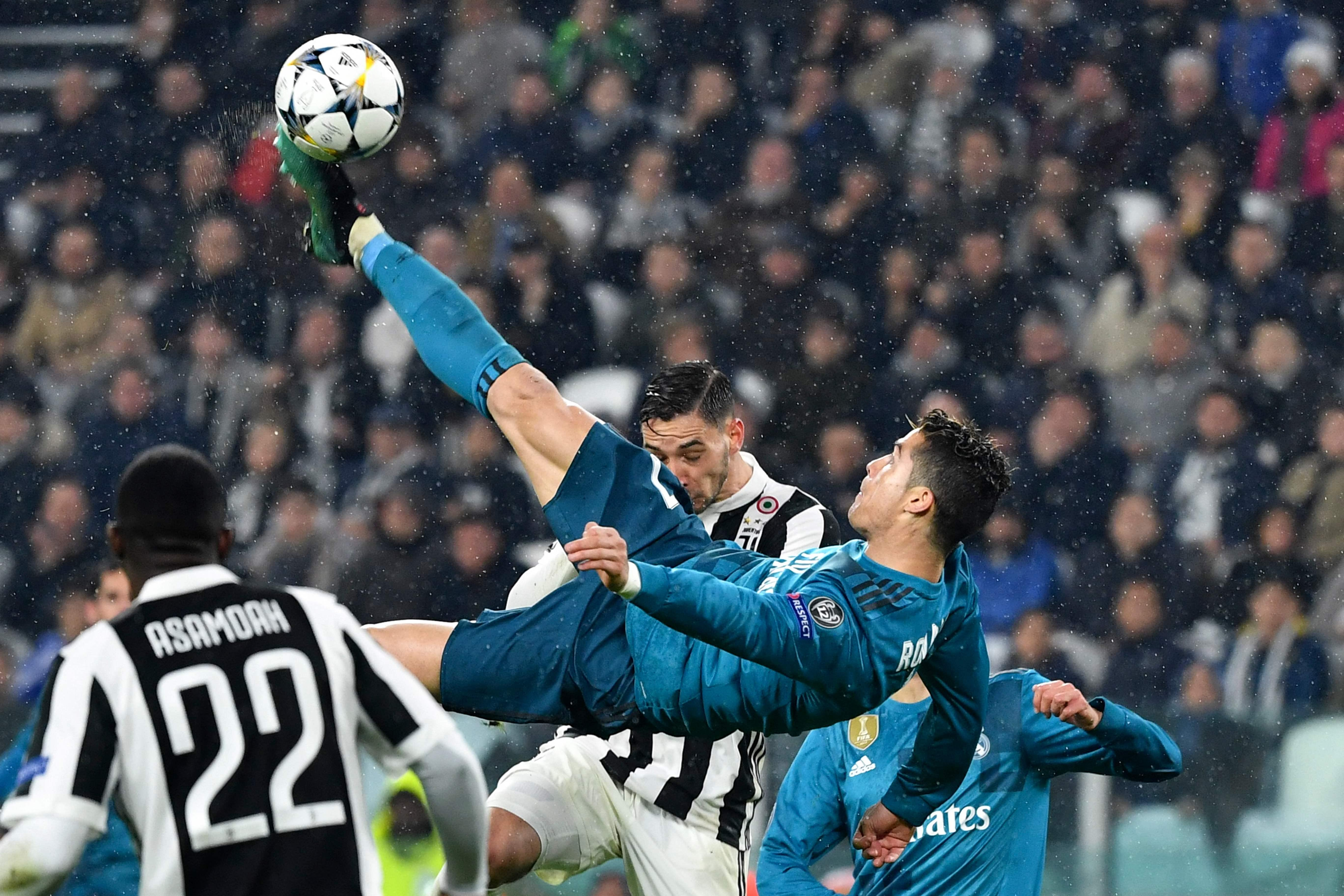 Fitting that perhaps his greatest Real Madrid goal came against Juventus