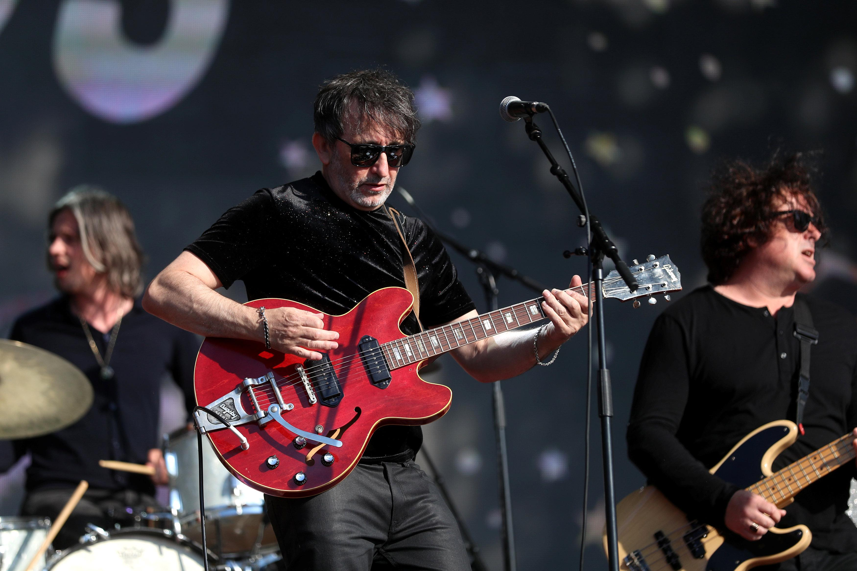 Ian Broudie sings 'it's coming home' in Hyde Park 22 years after making the hit song for Euro 96