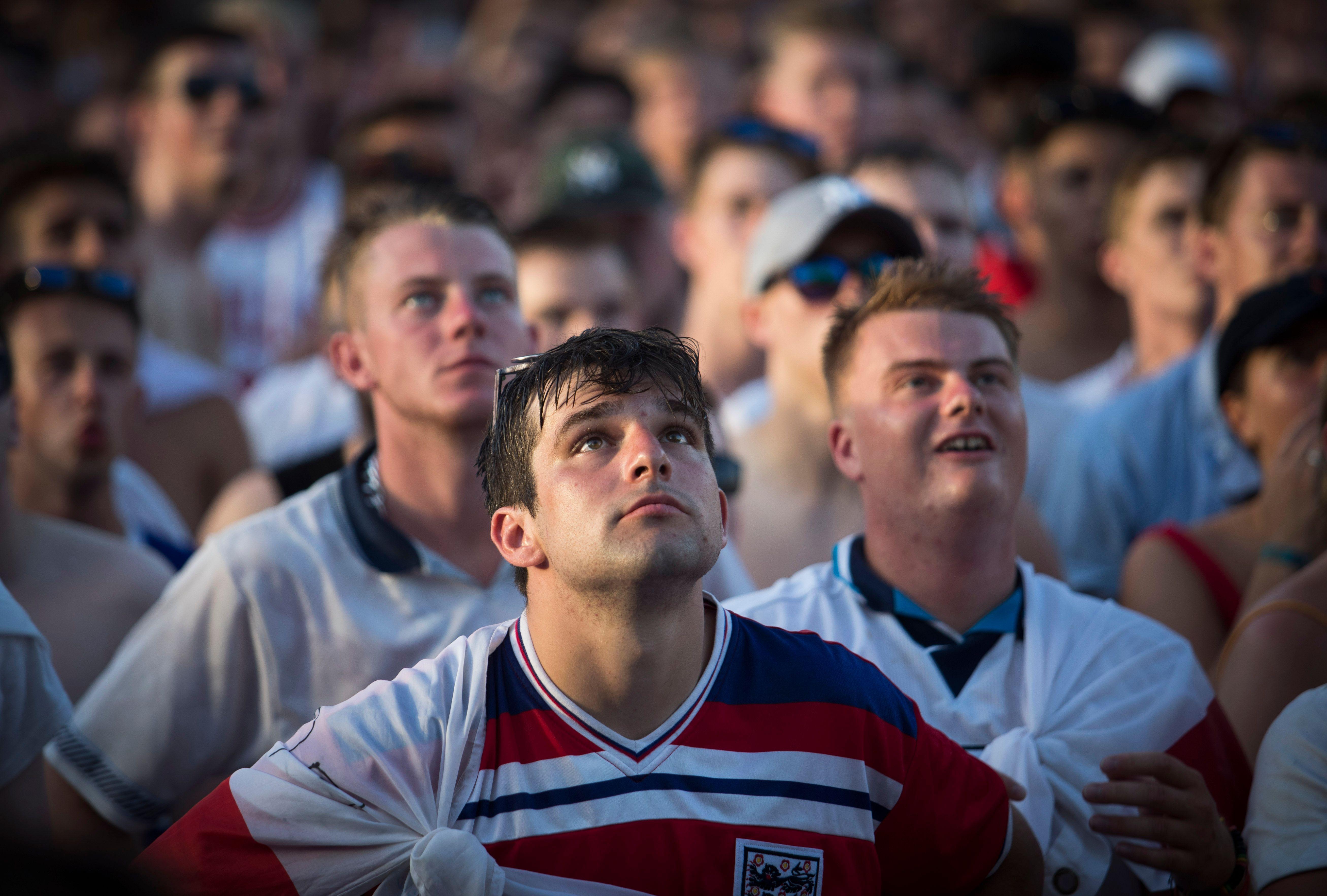 Being an England fan isn't always easy