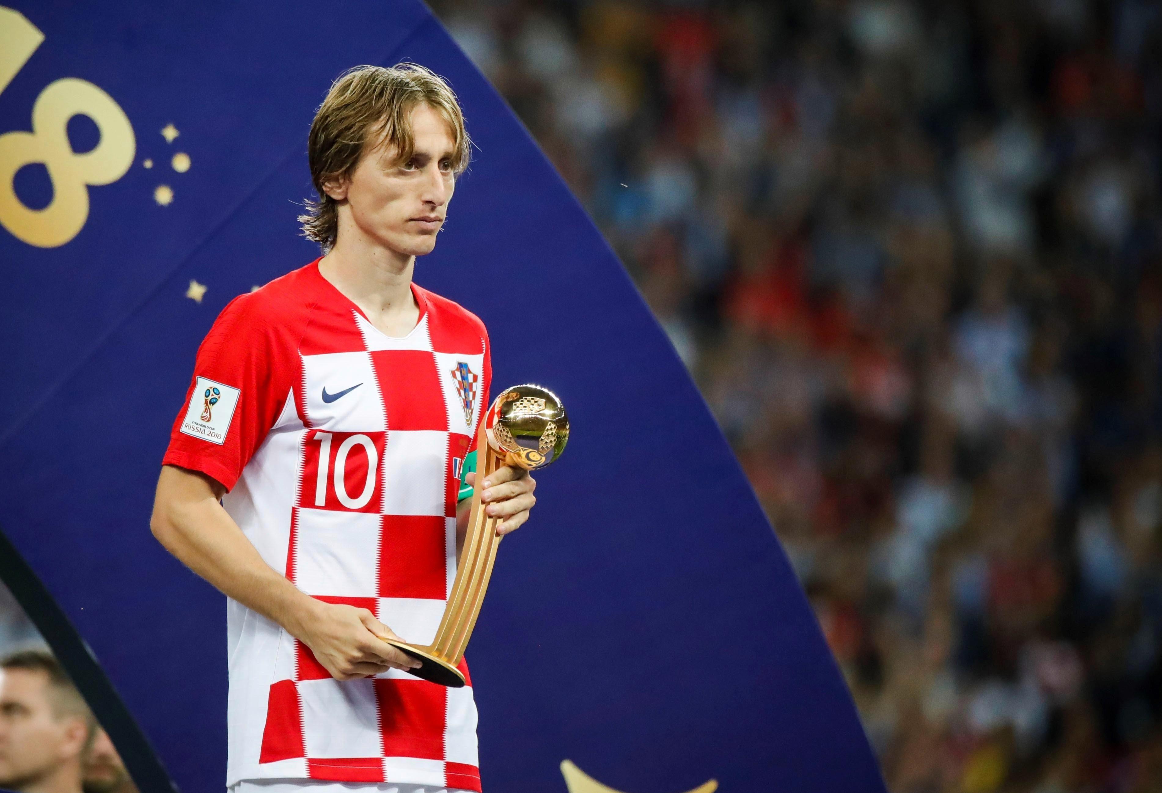 He's now a World Cup golden ball winner