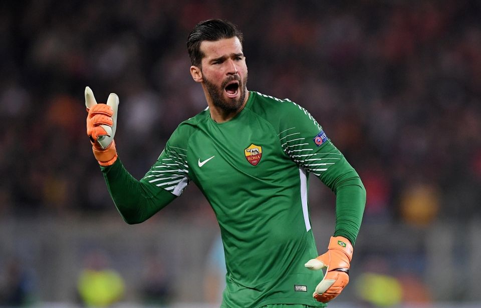 Liverpool spent a world-record fee for a goalkeeper to sign Alisson from Roma
