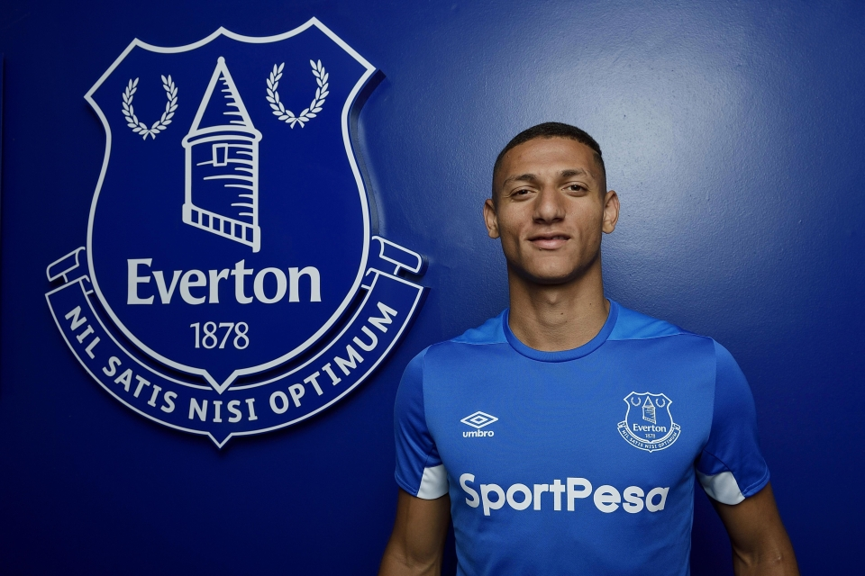 Richarlison has swapped Watford for Everton in a £50million deal