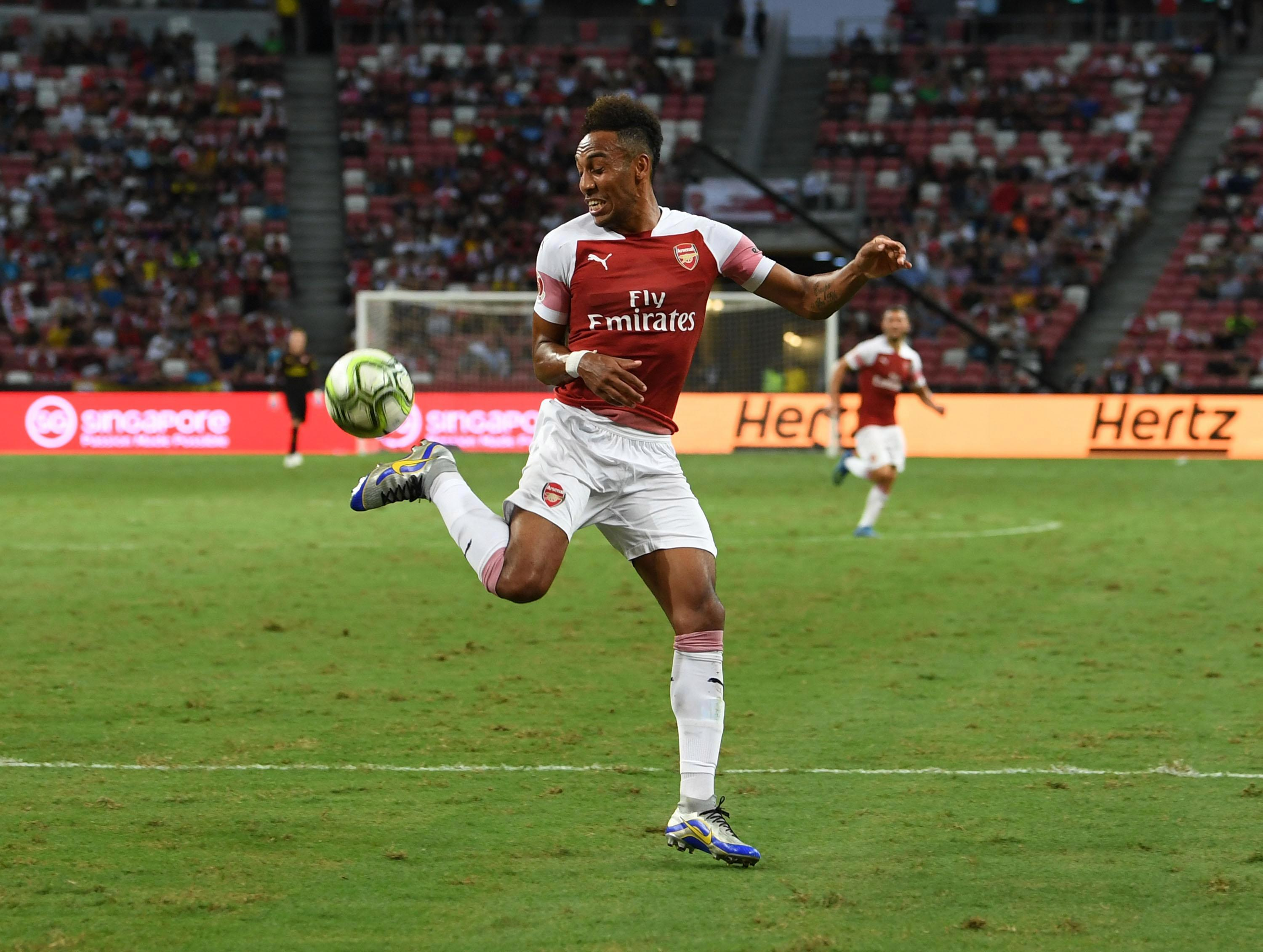 Aubameyang in the Europa League you say? Yes. Please.