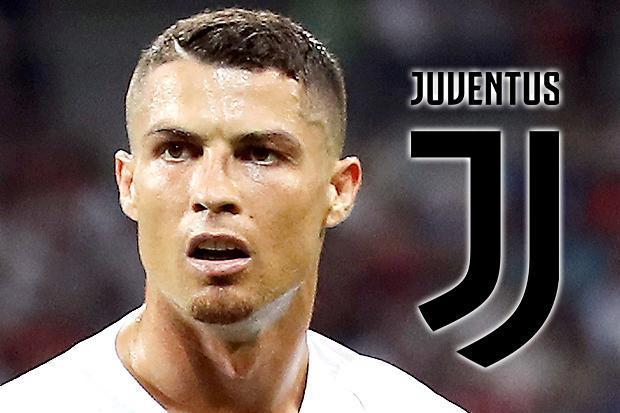Ronaldo completed the move from Real Madrid to Juve earlier in the week