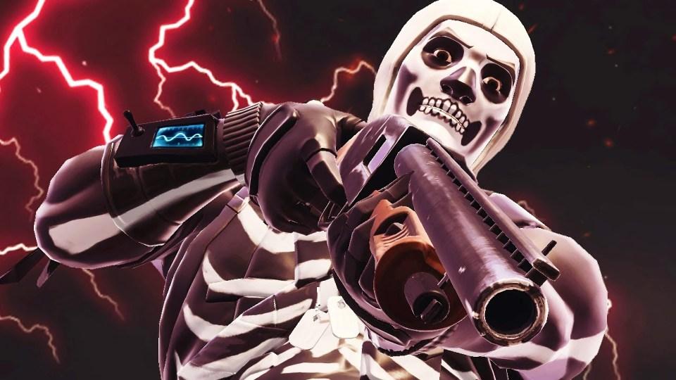 Cool Skull Logos With Guns Fortnite season 6: We ...