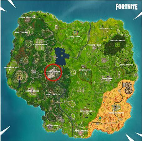 Do we even need to circle where Tilted Towers is?