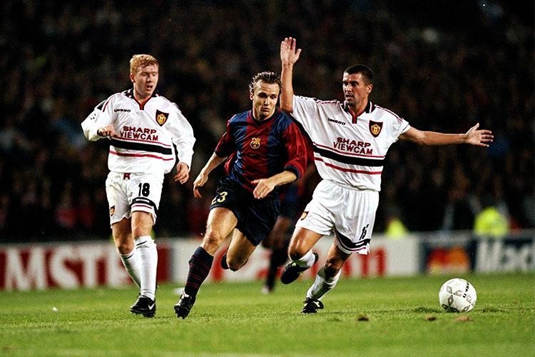 Roy Keane definitely snapped him