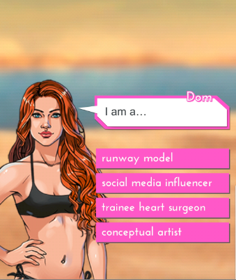 This red-headed bombshell chose to be a trainee heart surgeon