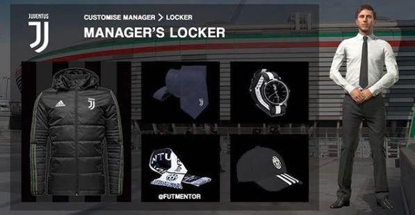 Concept of what the manager's locker could look like from Futmentor