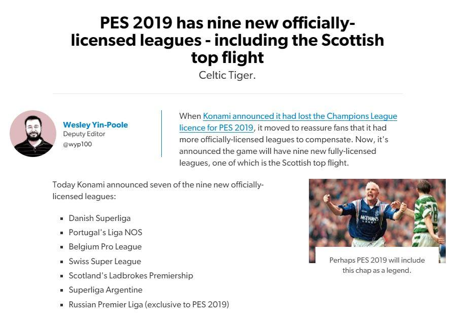 PES 2019: 7 reasons why PES 19 is a rubbish game not worthy of your
