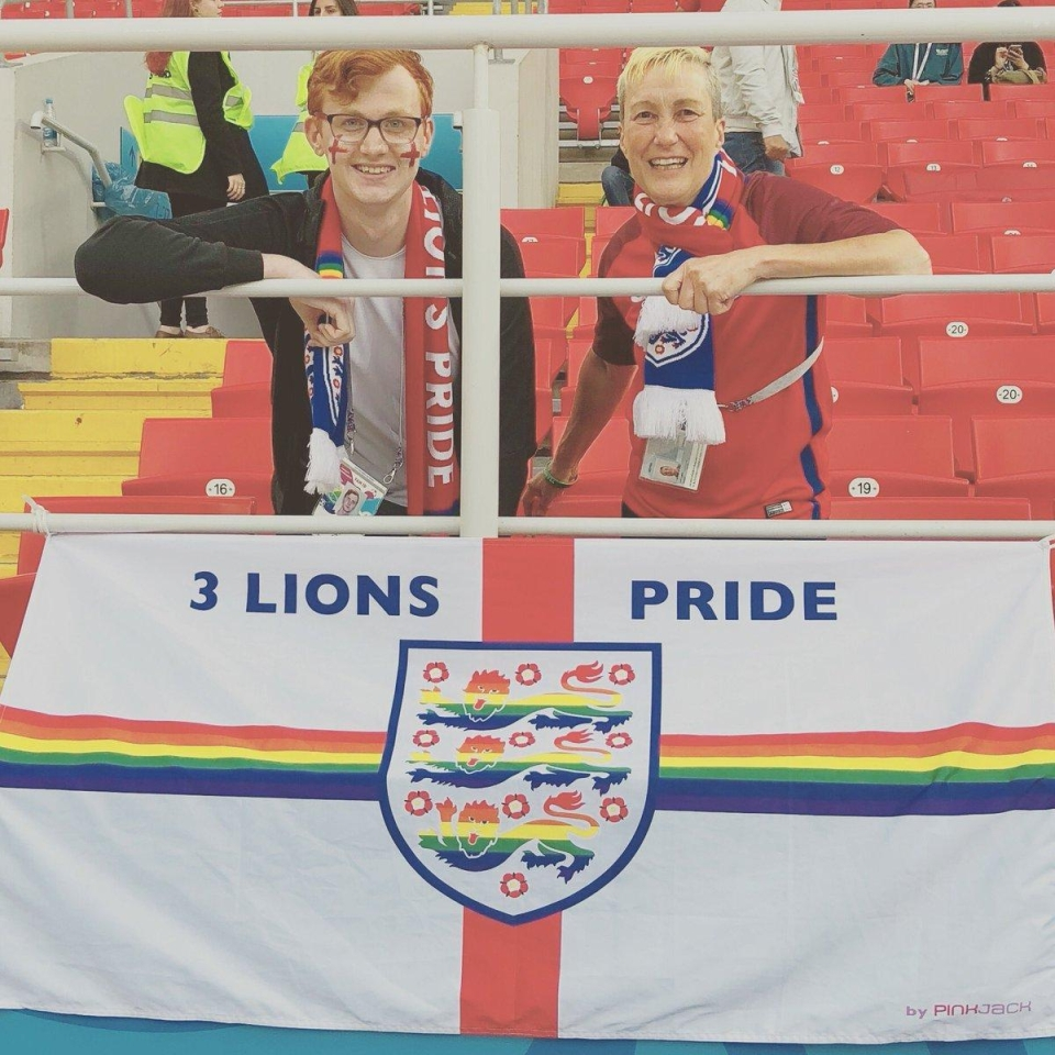 Despite the occasional blip, the Three Lions Pride flag has been well received inside stadiums during the World Cup