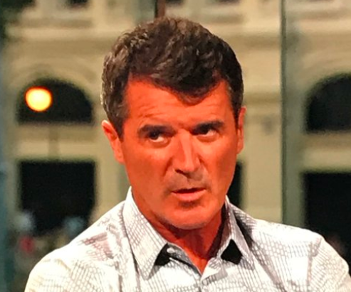 Roy Keane was working for ITV as a pundit
