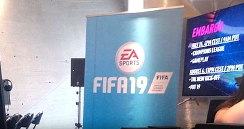 An image from a FIFA preview event