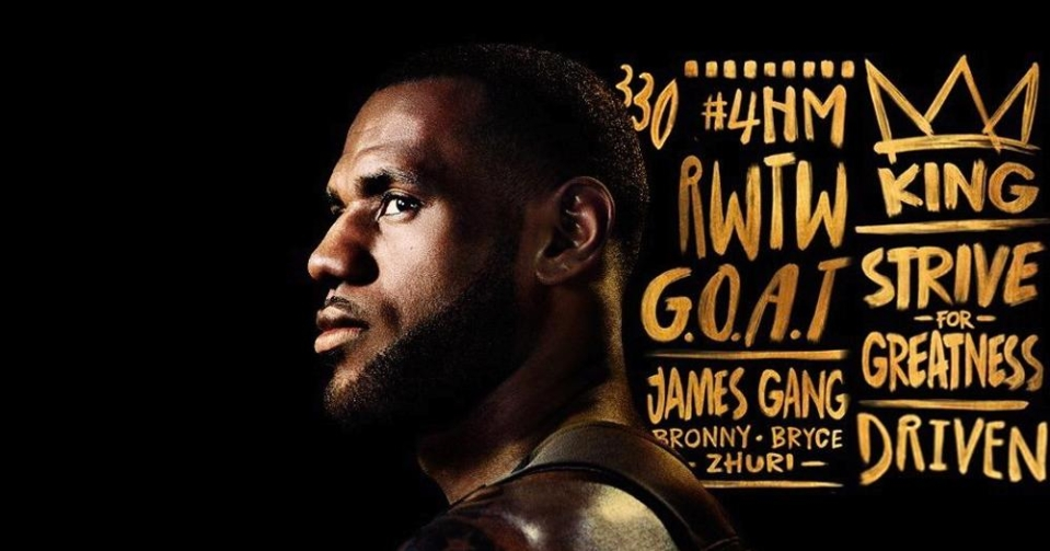 LeBron James is the cover athlete for the Anniversary Edition of the game