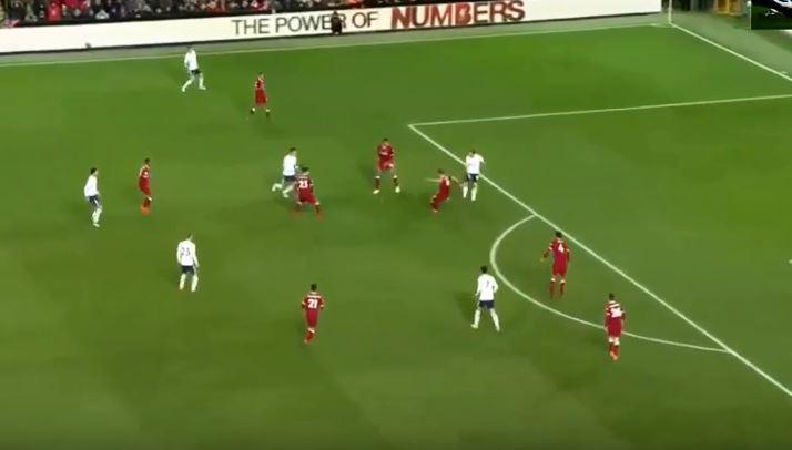 Lovren completely misses a routine clearance