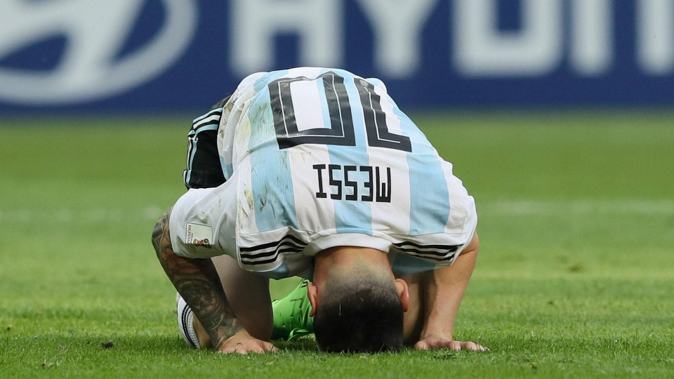 Argentina didn't perform to their usual standard this World Cup